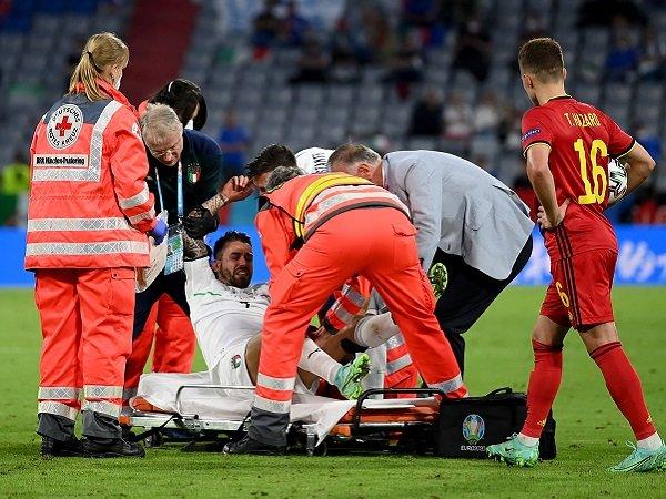 Leonardo Spinazzola dipastikan tak bisa main lagi di Piala Eropa 2020.