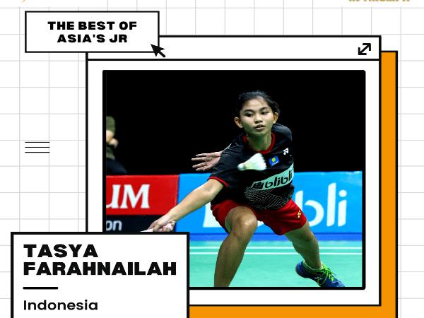 Tasya Farahnailah, Salah Satu Talenta Muda Terbaik Asia Asal Indonesia
