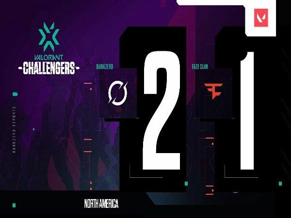 VCT Stage 3: Challengers One: FaZe Clan Disingkirkan Tim Debutan DarkZero