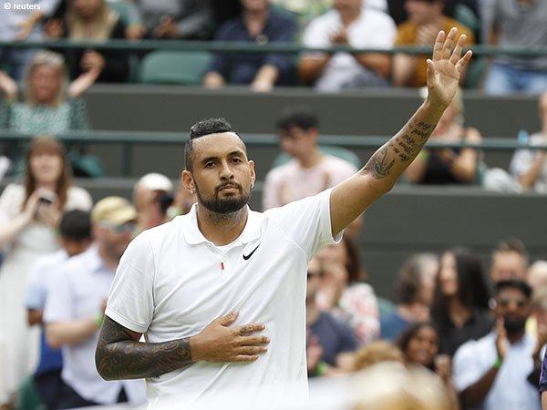 Nick Kyrgios tak bisa sembunyikan kekecewaan usai mundur dari Wimbledon 2021