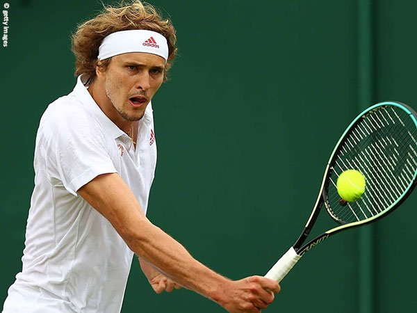 Alexander Zverev hadang Felix Auger Aliassime di babak keempat Wimbledon 2021