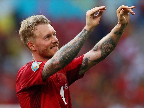 Simon Kjaer akui Denmark punya semangat lebih karena Christian Eriksen.