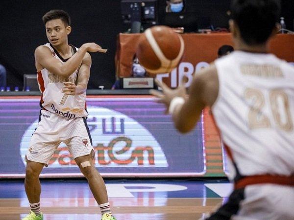 Point guard andalan Timnas Basket Indonesia, Andakara Prastawa. (Images: FIBA)