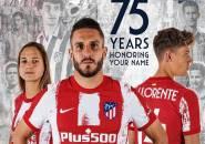 Atletico Madrid Perkenalkan Jersey Baru Untuk Musim 2021/22
