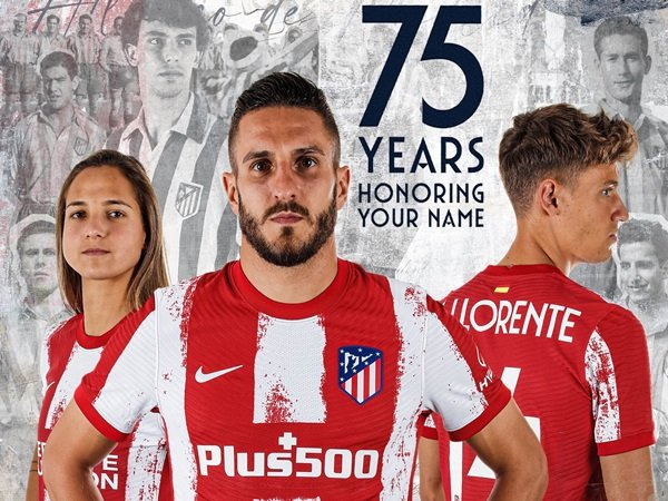 Atletico Madrid perkenalkan jersey baru
