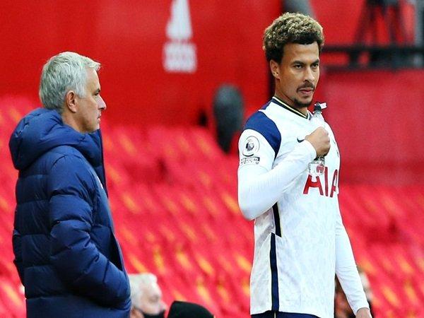 Dele Alli enggan menyalahkan Mourinho