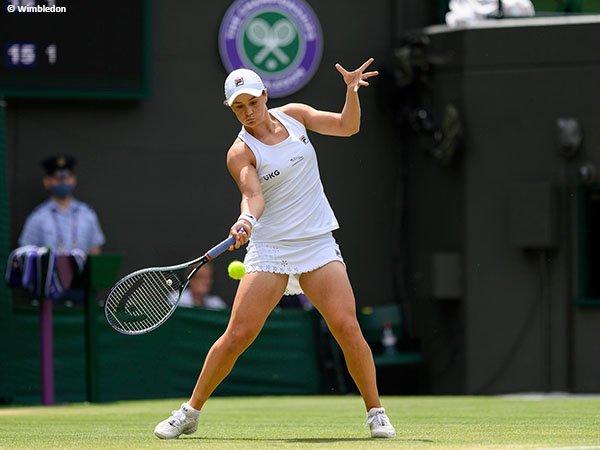 Ashleigh Barty jejakkan kaki di perempatfinal Wimbledon untuk kali pertama