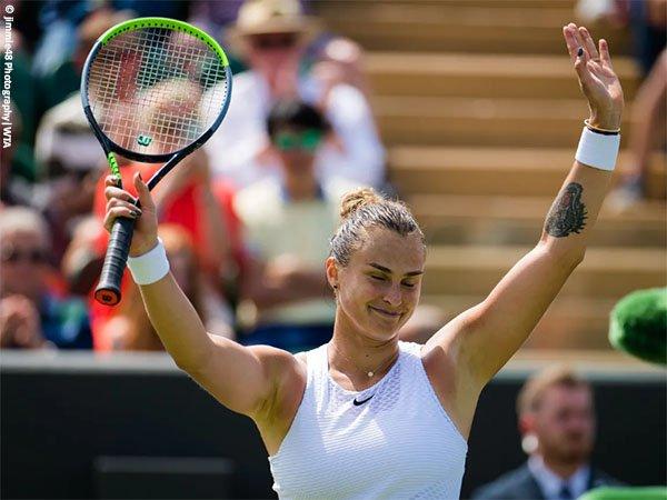 Aryna Sabalenka tampil habis-habisan demi jejakkan kaki di perempatfinal Wimbledon 2021