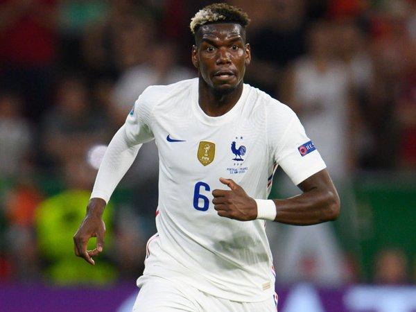 Gelandang timnas Prancis, Paul Pogba.