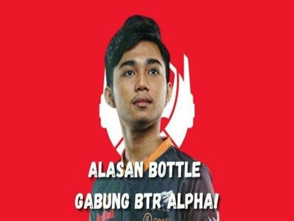 Bottle Pilih Gabung Bigetron Alpha Karena Paling Niat Memboyongnya
