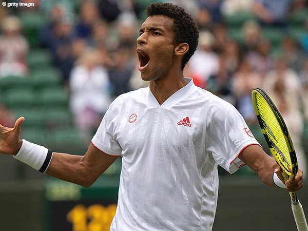 Felix Auger Aliassime bukukan satu tempat di perempatfinal Wimbledon 2021