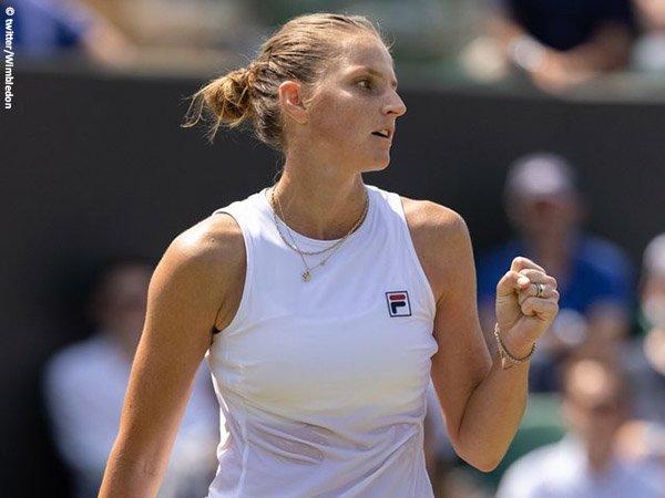 Karolina Pliskova tembus perempatfinal Wimbledon 2021
