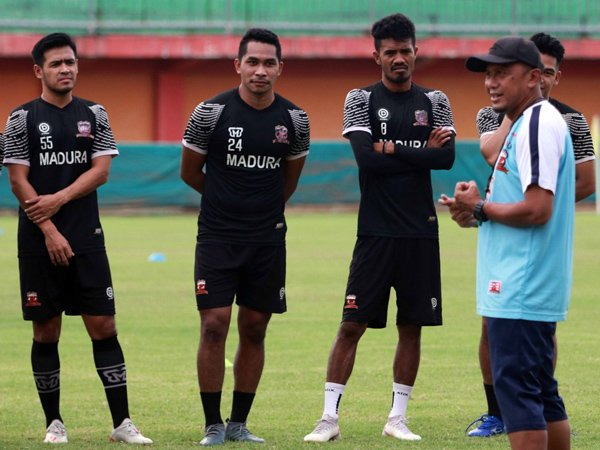 Manajer sekaligus Pelatih Madura United, Rahmad Darmawan
