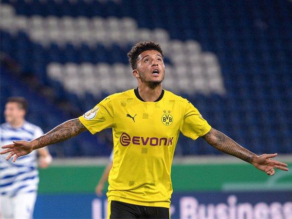 Winger Borussia Dortmund, Jadon Sancho.