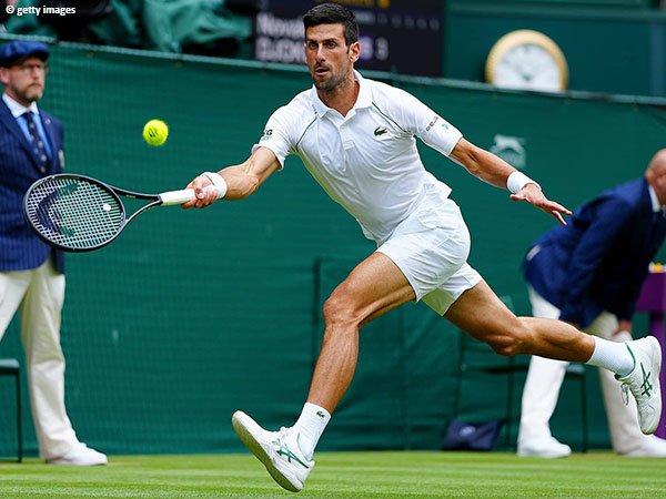 Novak Djokovic lolos ke semifinal Wimbledon untuk kali kesepuluh