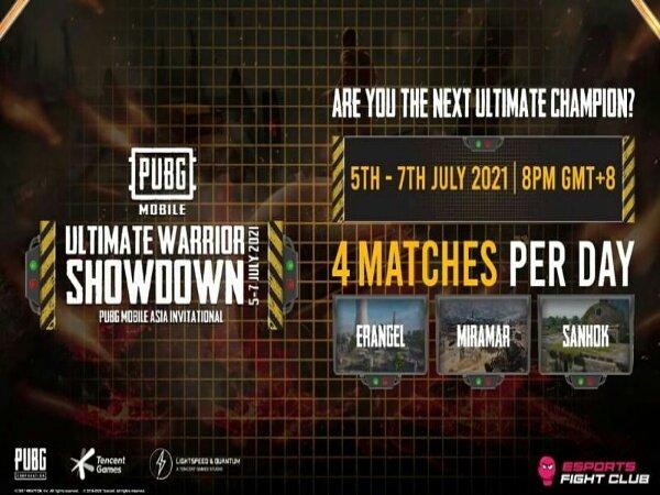PUBG Mobile Ultimate Warrior Showdown Day 2: BTR RA Naik ke Peringkat 2