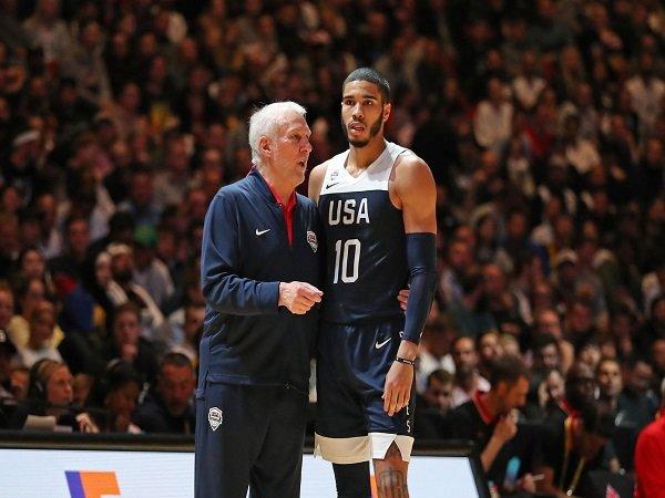 Jayson Tatum akan kenakan nomor punggung 10 milik Kobe Bryant di timnas Amerika Serikat.