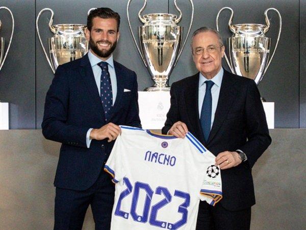 Nacho Fernandez resmi perbarui kontrak di Real Madrid.