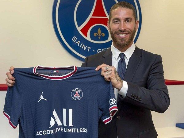 Sergio Ramos gabung dengan Paris Saint-Germain