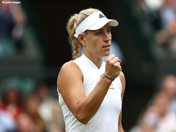 Angelique Kerber tetap optimis usai kekalahan di Wimbledon 2021