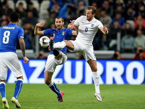 Giorgio Chiellini tak anggap Harry Kane sebagai satu-satunya ancaman Inggris.