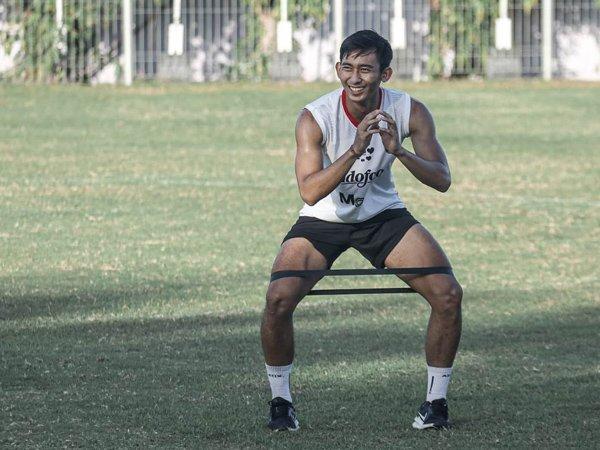 Bek muda Bali United, Komang Tri kecewa dengan penundaan Liga 1