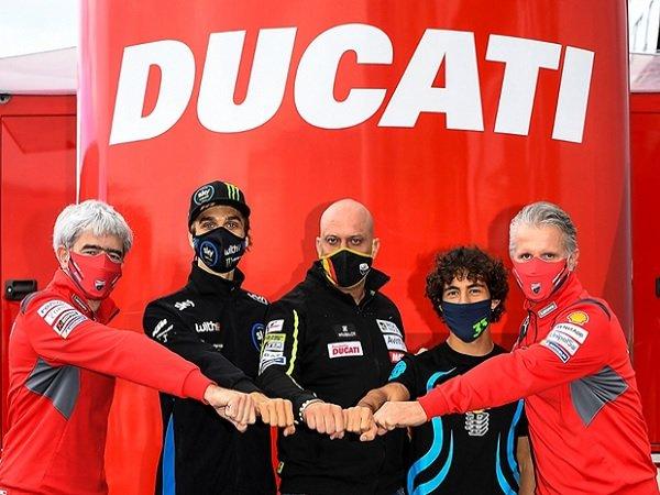 Luca Marini dan Enea Bastianini, Ducati Esponsorama Racing