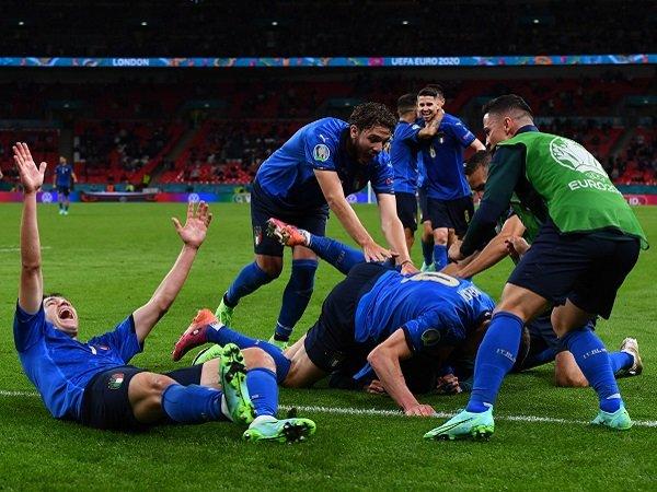 Italia bermain di kandang Inggris pada final Piala Eropa 2020.