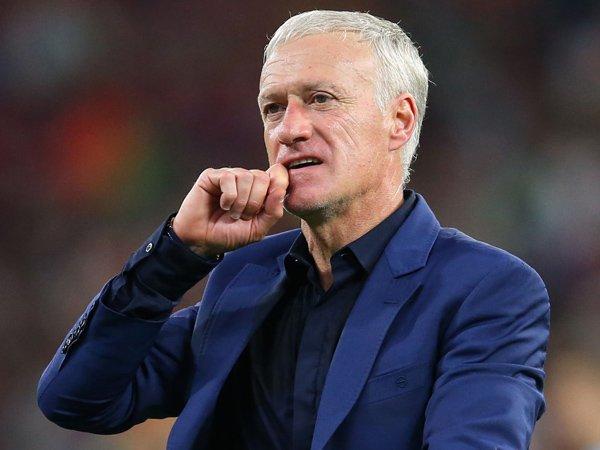 Pelatih timnas Prancis, Didier Deschamps.
