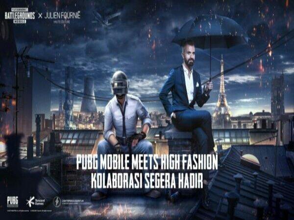 PUBG Mobile Kolaborasi Dengan Perancang Fashion Dunia Julien Fournié
