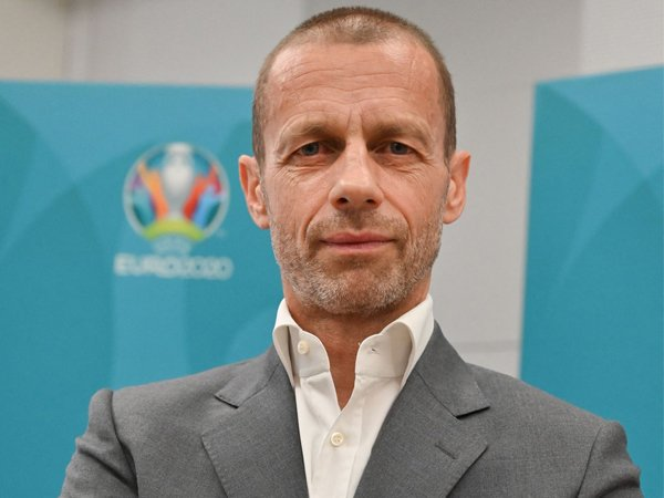 Presiden UEFA, Aleksander Ceferin.