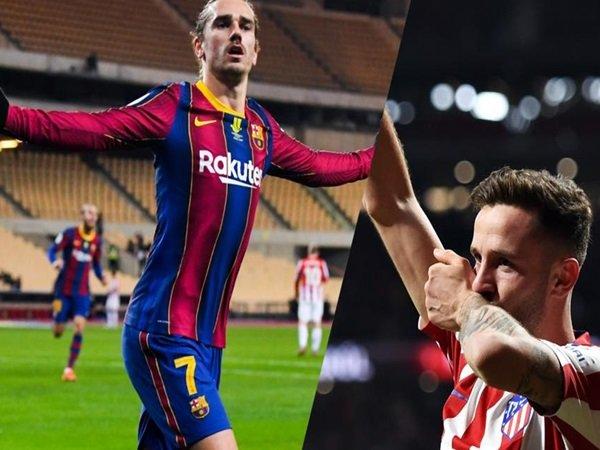 Atletico Madrid dan Barcelona pertimbangkan tukar Saul dan Griezmann