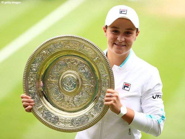 Ashleigh Barty kantongi gelar Grand Slam kedua dalam kariernya di Wimbledon 2021