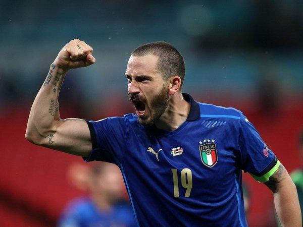 Leonardo Bonucci pantang takut hadapi Inggris di Wembley.