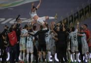 Argentina Ukir Sejumlah Rekor Usai Kalahkan Brazil di Final Copa America
