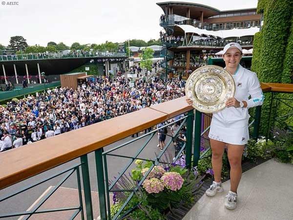 Ashleigh Barty ungkap rahasia mengejutkan usai menangkan Wimbledon 2021