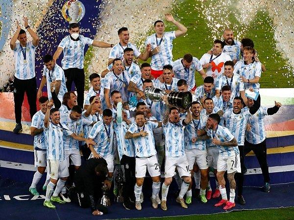 Argentina juara Copa America 2021 setelah kalahkan Brasil 1-0.