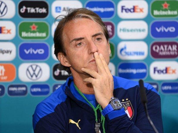 Pelatih Italia, Roberto Mancini (Sumber: Getty)