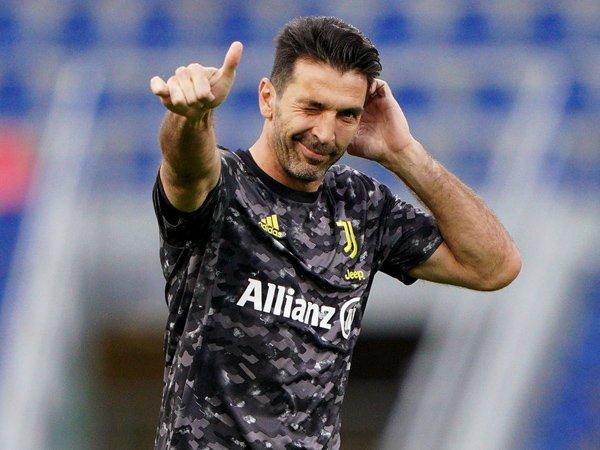 Kiper legendaris Italia, Gianluigi Buffon.