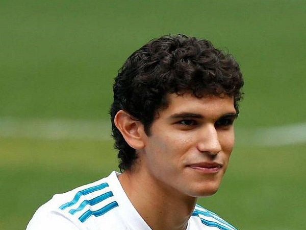 Pemain belakang Real Madrid, Jesus Vallejo.