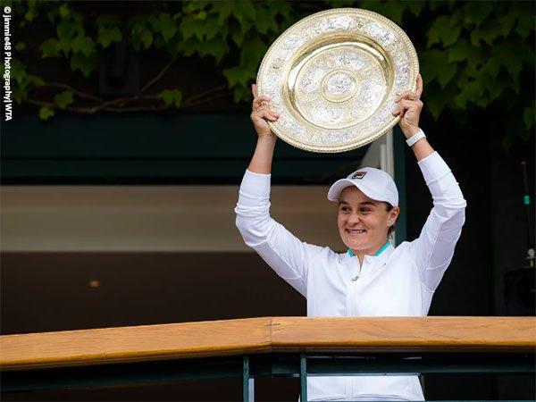 Ashleigh Barty terima ucapan selamat di media sosial usai kemenangan di Wimbledon 2021