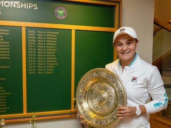 Evonne Goolagong Cawley bangga dengan pencapaian Ashleigh Barty di Wimbledon 2021