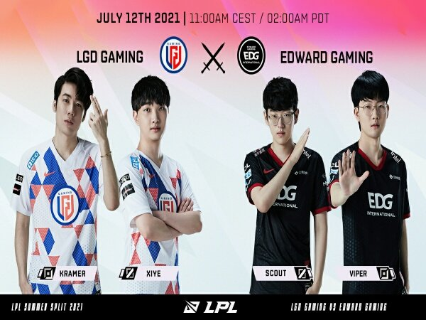 EDward Gaming Kokoh di Posisi Puncak LPL Summer Split 2021 usai Bekap LGD