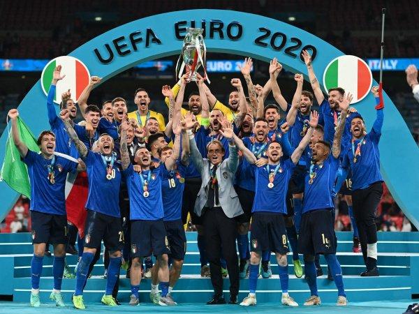 Italia sukses juarai Piala Eropa 2020.