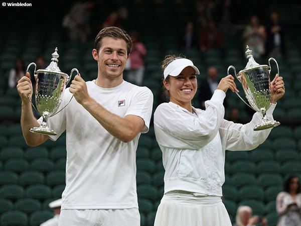 Neal Skupski dan Desirae Krawczyk boyong gelar Wimbledon 2021