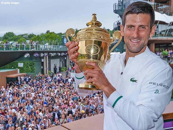 Novak Djokovic makin kukuhkan diri sebagai salah satu petenis terhebat usai juarai Wimbledon 2021