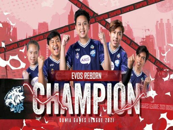 Juara DGL 2021, EVOS Reborn Sudahi Puasa Gelar Selama 2 Tahun