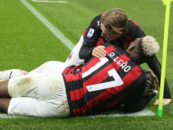 Duo winger kiri Milan Rafael Leao dan Jens Petter Hauge