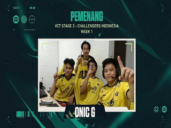 Lumat BTR Astro, ONIC G Juara VCT Indonesia Stage 3 Challengers Week 1