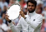 Matteo Berrettini Akui Levelnya Berkembang Meski Kalah Di Wimbledon